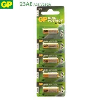 GP Battery ถ่าน Alkaline Battery 12V. รุ่น GP23AE (1 แพ็ค 5 ก้อน)