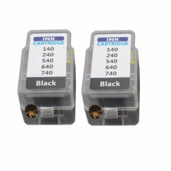 Pritop/Canon Ink Cartridge PG740/PG 740/PG-740 /*2 Pack ใช้กับปริ้นเตอร์ Canon Inkjet MG4270/MX517MG2170/MG3170/MG4170/MX437MX377