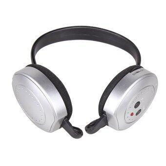 ไฮไฟชุดหูฟังไร้สายหูฟังวิทยุ fm เครื่องที่มีผู้ส่งเงิน