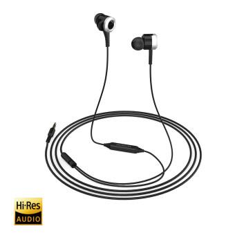 dodocool ไฮ res ในหูหูฟังพร้อมรีโมท และไมโครโฟน 3.5มมปลั๊กออดิโอสำหรับ iPhone 6/6s/Samsung S6/S5/Note 4/Blackberry/Nexus/คอมพิวเตอร์ และอุปกรณ์อื่น ๆ สีดำ