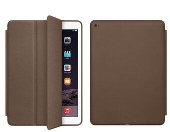 1st Shop เคสไอแพด มินิ 1/2/3 รุ่น Leather Flip iPad mini 1/2/3 Case Ultra slim PU Leather Flip Case For Apple iPad Mini 1/2/3 (น้ำตาล)