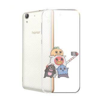 Hug Case TPU เคส Huawei Y6 II เคสโทรศัพท์พิมพ์ลาย Say Chees เนื้อบาง 0.3 mm