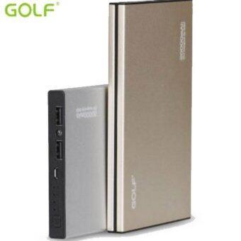 Golf Powerbank 20000 mAh รุ่น G14 พร้อมซองกำมะหยี่ - สีทอง