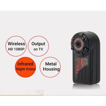Harga QQ6 HD 1080P 720P Mini DV DVR Camera Camcorder (Black) - intl