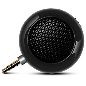 REFURBISHED Coco 2016 Hot Selling Leadsound Portable Mini HIFI 3D Surround Speaker 3.5mm Jack Mini Speaker for Smart Phone Tablet PAD Upright สปีกเกอร์โฟน X2(Black)