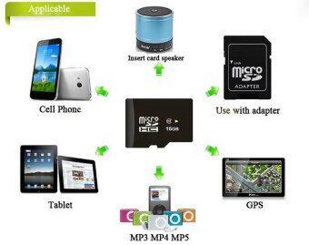 Elit 16GB Micro SD Card Class 10 Fast Speed (ฟรี! ของแถม 4 ชิ้น) (image 3)