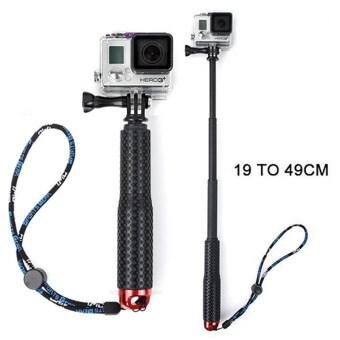 ไม้เซลฟี่ TMC Monopod ยืด19-49cm (สีแดง) สำหรับกล้อง Gopro / Xiaomi Yi / SJCAM