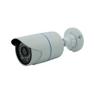 Mastersat กล้องวงจรปิด CCTV AHD 1 MP 720P Bullet เลนส์ขนาด 8mm ดูภาพระยะไกลกว่าเลนส์ปกติ AHD03 (สีขาว)