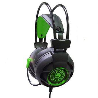 Marvo Gaming Headphones หูฟังเกมมิ่ง รุ่น HG-9012(Black/Green)