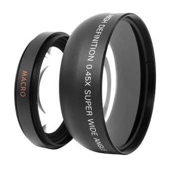 52mm 0.45 X Wide Angle Macro Lens For Nikon D3200 D3100 D5200 D5100 ราคาถูกที่สุด ส่งฟรีทั่วประเทศ