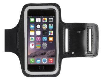 Center สายรัดแขนมือถือSports Armband Case Holder for iPhone6/6S/6Plus(สีดำ)