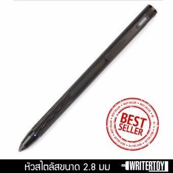 WRITERTOY ปากกาสไตลัสหัวเล็ก stylus pen ปากกาไอแพด ipad iphone ปากกา touch ปากกาแท็บเล็ต tablet รุ่น LightSpeed(สีJET BLACK)