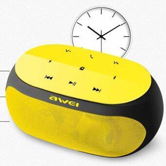 Awei ลำโพงบลูทูธ ไร้สาย HiFi Bluetooth Speaker V.3.0 รุ่น Y200 (สีเหลือง)