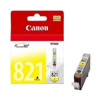 Canon CLI-821Y ตลับหมึก Canon (สีเหลือง)
