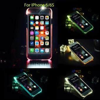 DT เคส IPhone6/6s ไฟกระพริบ (สีขาวใส)