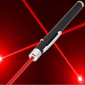 Red Laser pointer ปากกาเลเซอร์แสงสีแดง (Black)