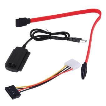SATA/พาต้า/IDE ขับ USB 2.0 อะแดปเตอร์สายตัวแปลงสำหรับ 2.5/3.5 ฮาร์ดไดรฟ์