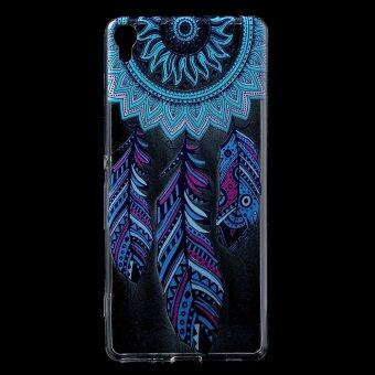 Harga Patterned Soft TPU Case for Sony Xperia XA / XA Dual - Feather Dream Catcher - intl