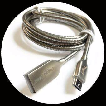 Dapad สายชาร์จอะลูมิเนียม Micro USB แข็งแรงทนทาน ชาร์จไฟเร็ว ซิงค์ข้อมูลอย่างเสถียร Lightning Micro-usb Dada Cable (ใช้งานได้กับ Samsung / Huawei /OPPO/VIVO and more) microUSB charger aluminum faster Charging charge/SYNC Mirco usb