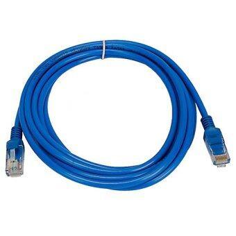 Link Cable CAT5E สายแลน เข้าหัวสำเร็จรูป 5 M. (สีน้ำเงิน)