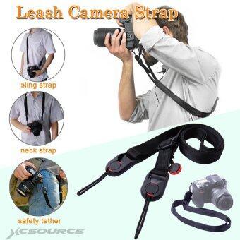 XCSource กล้องคล้องสายจูงรัดสำหรับ Gopro Canon Nikon Sony Olympus Pentax DSLR LF491 - intl