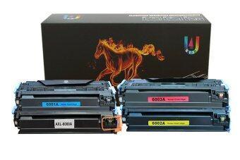 HP Q6000A/Q6001A/Q6002A/Q6003A (1 ชุด 4 สี) ตลับหมึกเลเซอร์เทียบเท่า Best 4 U