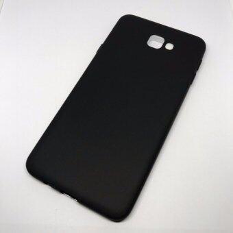 Case J7 Prime เคส ซัมซุง TPU สีพาสเทล บางเฉียบเพียง 0.3mm แนววินเทจ (สี ดำ) (image 1)