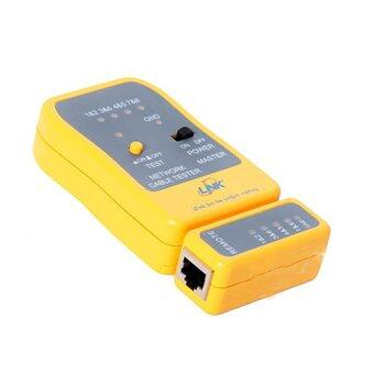 LINK Network Cable Tester US-8010 (เหลือง)