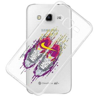 AFTERSHOCK TPU Case Samsung Galaxy J2 2016 (เคสใสพิมพ์ลาย Sneaker) / Thin 0.33 mm