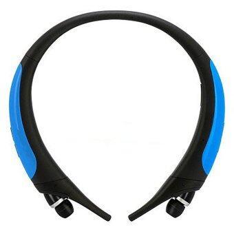 HBS-850 ชุดหูฟังบลูทู ธ ที่ใช้งานแล้วสำหรับแบรนด์ Samsung Galaxy Sony Xiaomi (สีฟ้า) - intl
