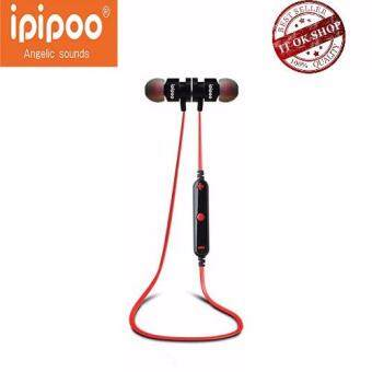 IPIPOO รุ่น iL93BL Wireless Bluetooth Sports Stereo Earphone (ดำแดง)