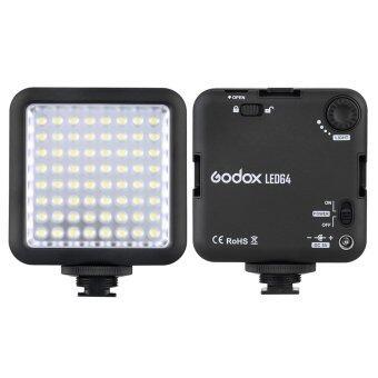 Godox LED64 ไฟวิดีโอ 64 ไฟ led สำหรับ DSLR กล้องส่องกล้องถ่ายวิดีโอตอนเติม DVR มินิ