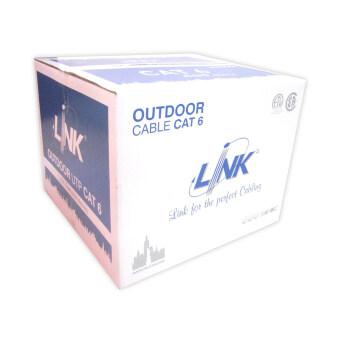 LINK สายแลน CAT6 305ม. Outdoor มีสลิง รุ่น LINK US-9106M