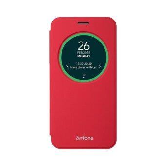 ASUS ZenFone 2 Laser View Flip Cover ZE550KL ของแท้ (Red)