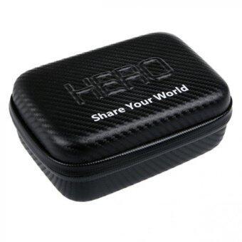 GoPro กระเป๋ากันน้ำ ลายแคฟล่า ใส่ได้กับ GOPRO SJ4000 SJ5000 ไซส์ S