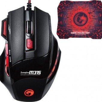 Marvo Gaming Mouseเมาส์เกมส์ Scorpion Buthus M315 + G1