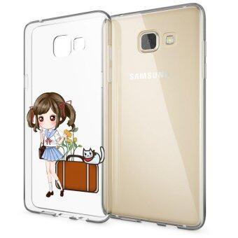 HugCase TPU เคส Samsung Galaxy A5 2016เคสโทรศัพท์พิมพ์ลาย Go Go เนื้อบาง 0.3 mm