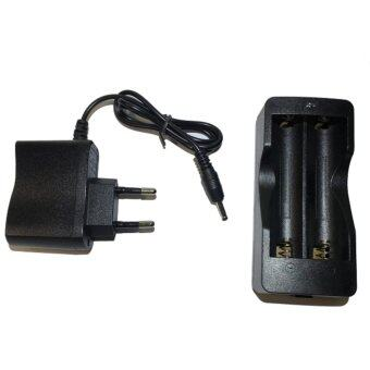 Harga Wire Charger+Double Battery base แท่นชาร์ตถ่านแบตเตอรี่ 18650