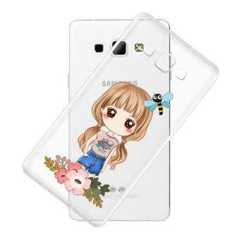 AFTERSHOCK TPU Case Samsung Galaxy J7 2016 (เคสใสพิมพ์ลาย I'm a gril 3) / Thin 0.33 mm