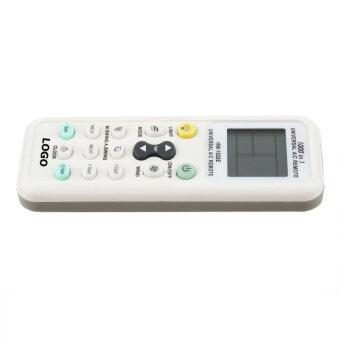 จอแสดงผลแอลซีดีดิจิตอลสากลแอร์รีโมทคอนโทรลเลอร์ A/C ขาว-