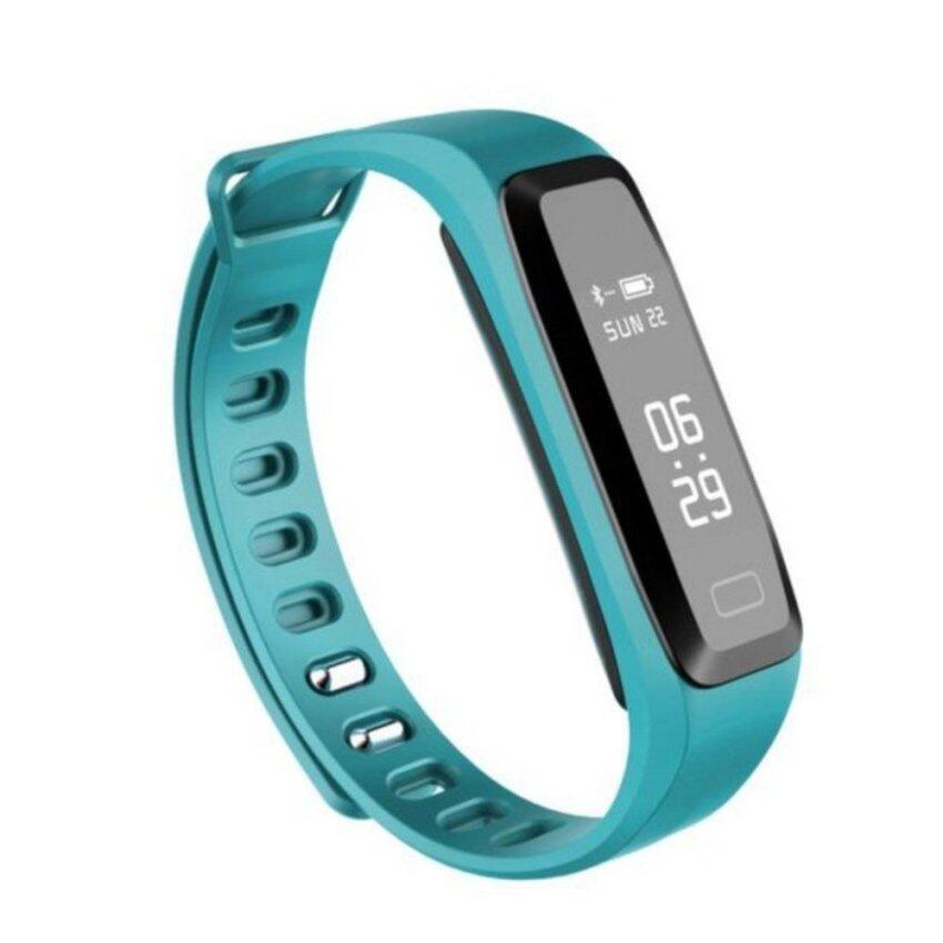 (Import)LYNWO M5 0.86 inch OLED Blood Pressure Heart Rate Monitor Wristband Bracelet - intl