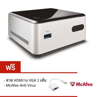 Intel NUC Mini PC DN2820FYKH Celeron N2820 (500GB) (Free HDMI to VGAMcAfee)