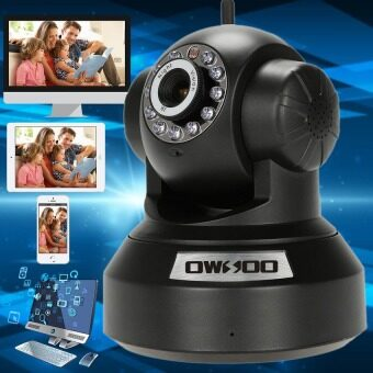 IP Camera กล้องวงจรปิดไร้สาย IP Camera Full HD 1.0MP ติดตั้งง่าย (White) (image 4)