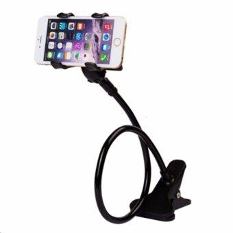 ที่หนีบสมาร์โฟน iphone samsuang แท่นวางไอโฟน แบบหนีบ(สีดำ)(Black)