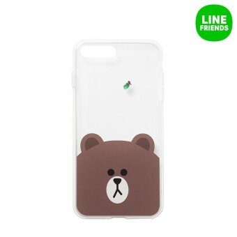 Harga IPHONE7 PLUS JELLY CASE_BROWN&EDWARD
