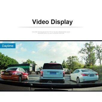 JA LENG กล้องติดรถยนต์แบบกระจกมองหลังพร้อมกล้องติดท้ายรถ car cameras