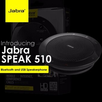 Jabra Speak 510 Wireless Bluetooth Speaker for Softphone and Mobile Phone - intl