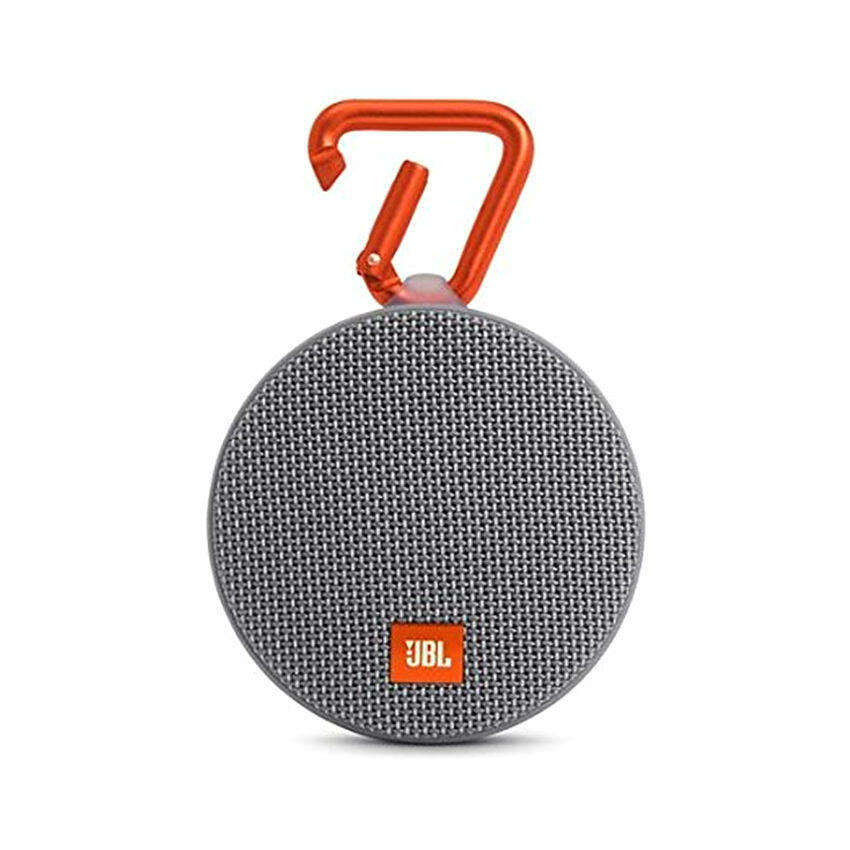 JBL Clip 2 Waterproof Portable Bluetooth Speaker (Gray) - intl