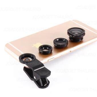 JCGADGET Clip Lens เลนส์มือถือ 3in1 ( สีดำ ) ฟรี ถุงผ้า (image 2)