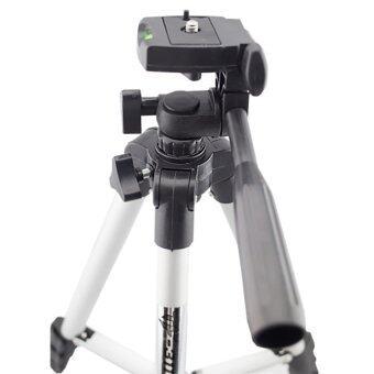 JCGADGET ขาตั้งกล้อง Tripod รุ่น TF-3110 (Sliver) แถมฟรีหัวต่อสำหรับมือถือ (image 1)